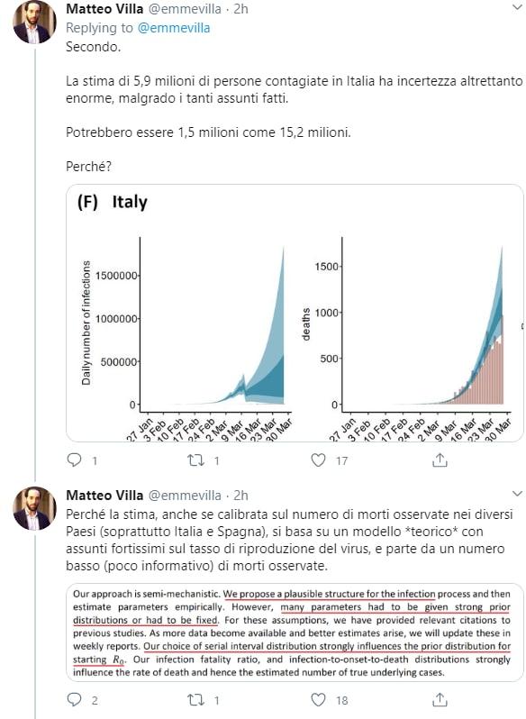 imperial college 5,9 milioni italiani coronavirus - 2