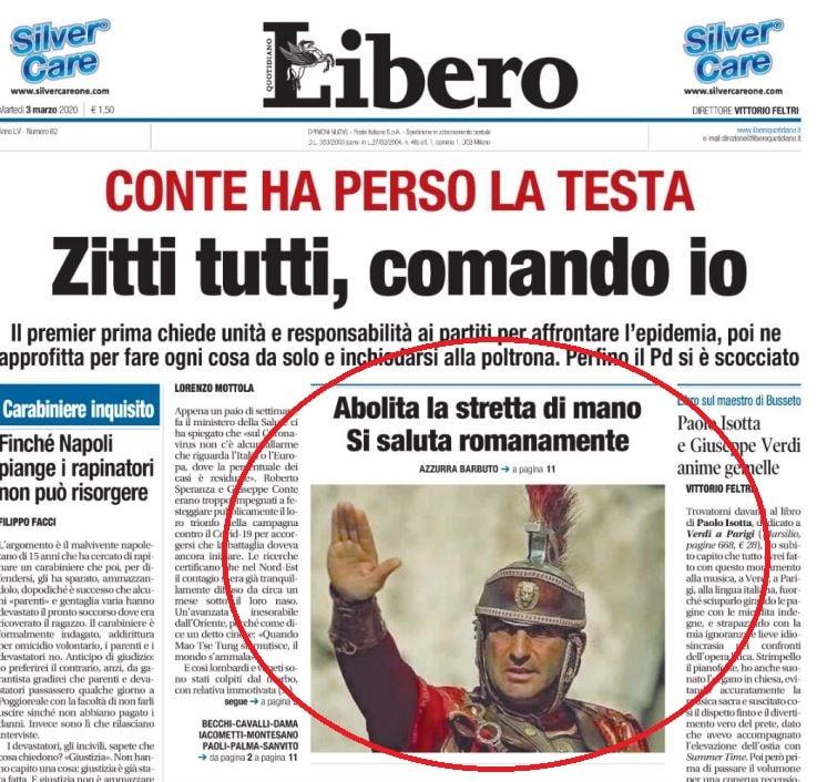 libero saluto romano