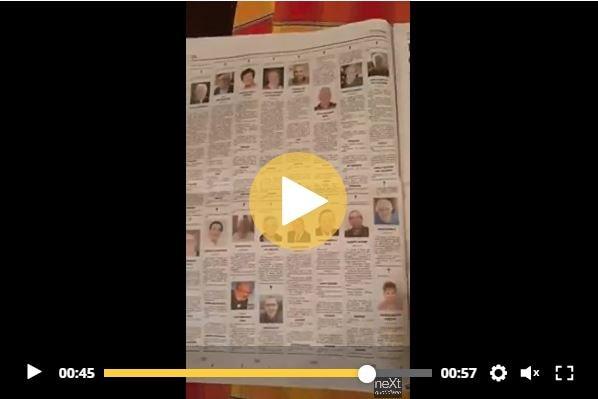 Il video con le undici pagine di necrologi sull'Eco di ...