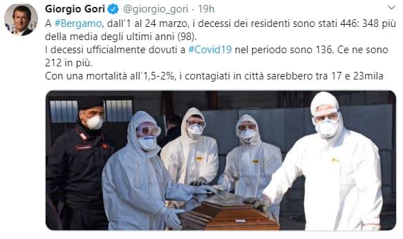 nembro bergamo coronavirus covid-19 morti - 11