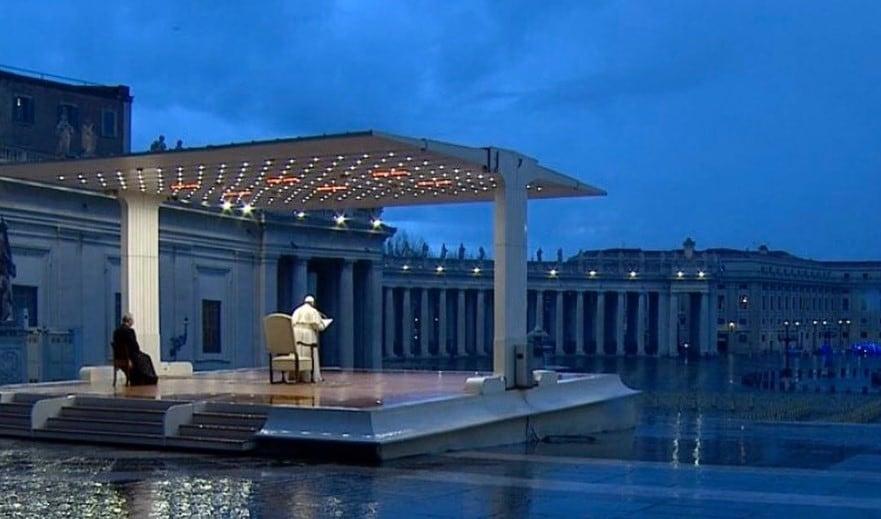 papa francesco urbi et orbi indulgenza plenaria coronavirus 2