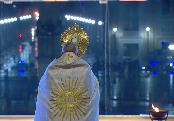 papa francesco urbi et orbi indulgenza plenaria coronavirus