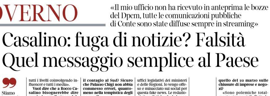 Rocco Casalino: «Io vengo offeso e minacciato sui social net