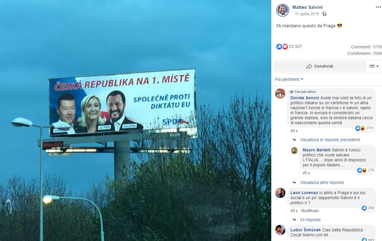 salvini repubblica ceca 2