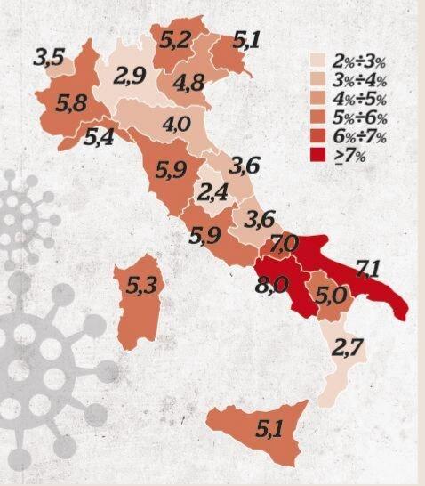 Coronavirus: l'aumento dei casi in Campania e Toscana