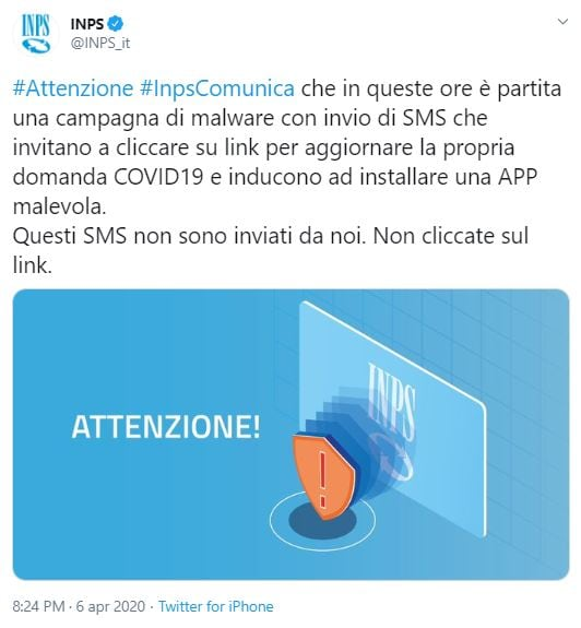 inps 600 euro mail risposta 1