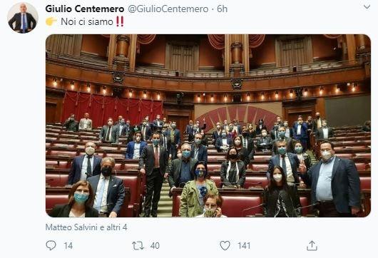 lega occupa parlamento 2