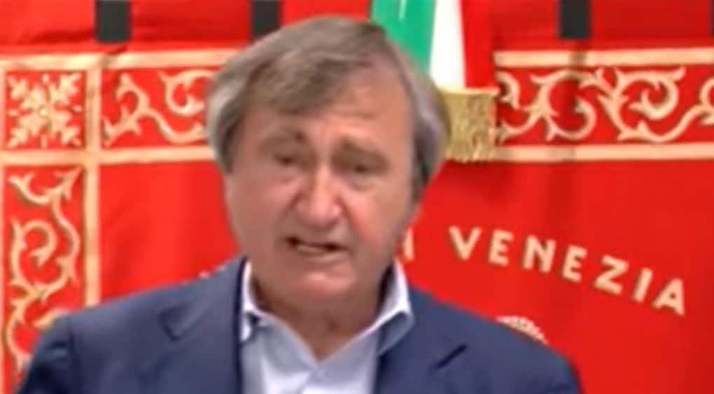 luigi brugnaro sindaco di venezia