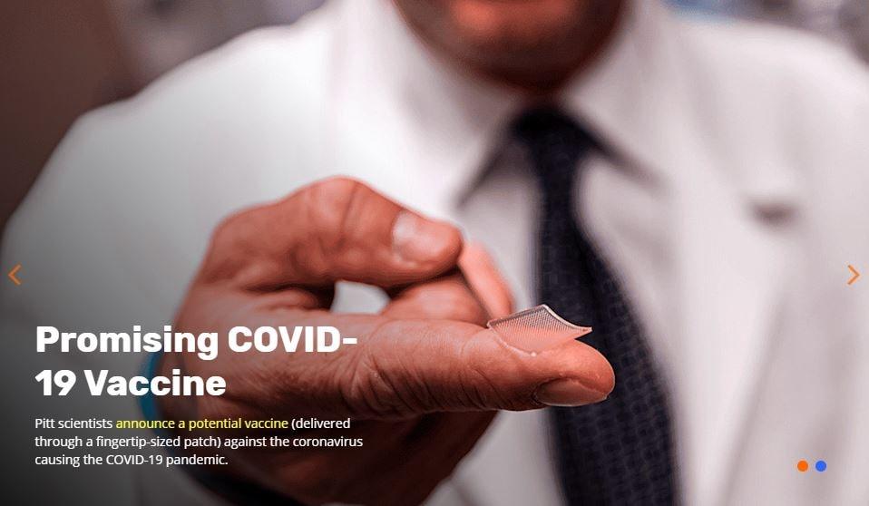 pittcovacc vaccino-cerotto coronavirus