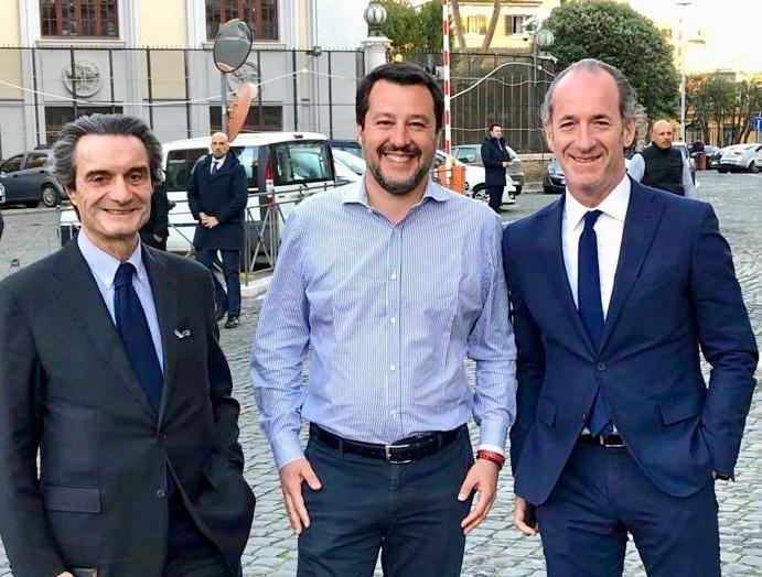 Zaia e Fontana bocciano Salvini sulle chiese aperte a Pasqua