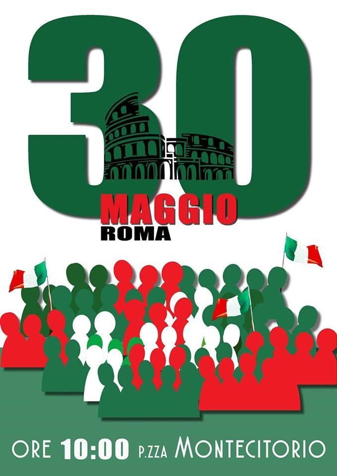 30 maggio manifestazione montecitorio