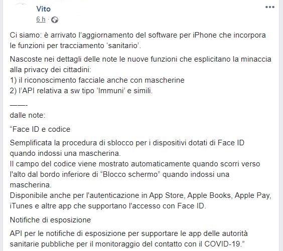 aggiornamento software apple iphone 1