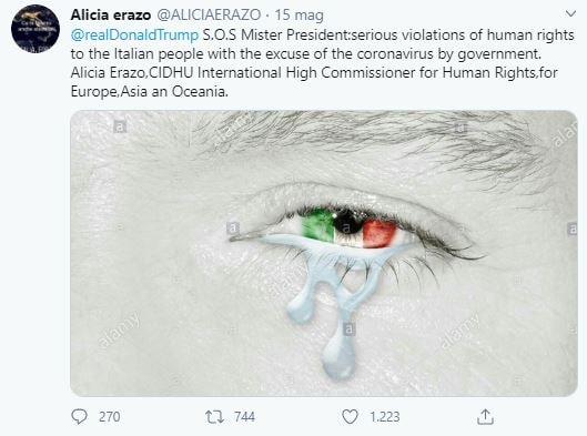 alicia erazo onu allarme diritti umani violati in italia 2