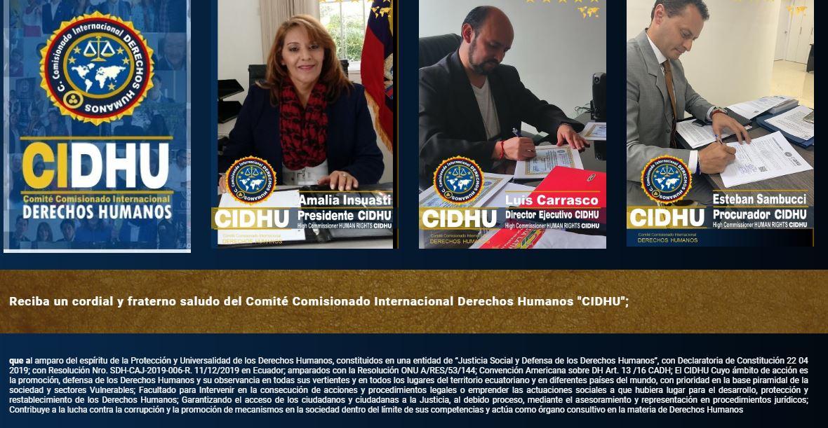 alicia erazo onu allarme diritti umani violati in italia 5