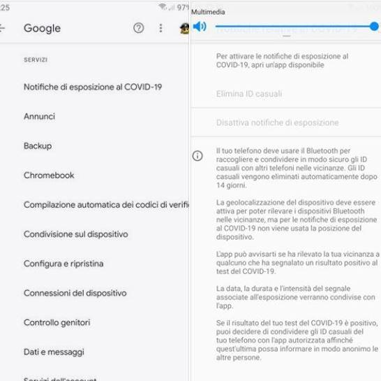 android applicazione covid-19 1