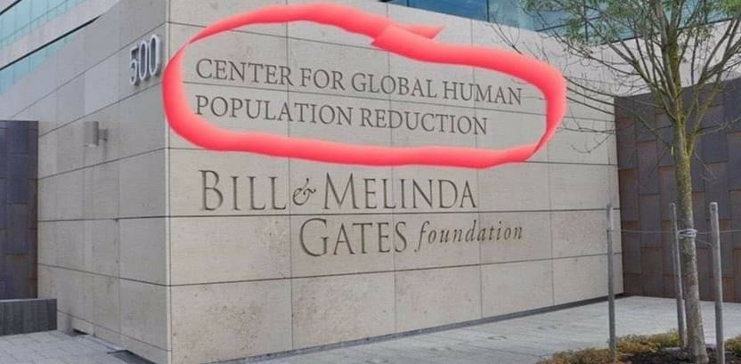 bill gates center for global human population reduction