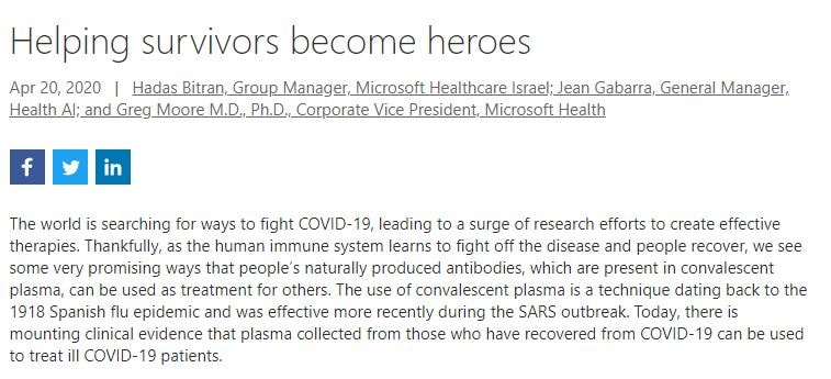 bill gates cura del plasma coronavirus sars-cov-2 covid-19 5