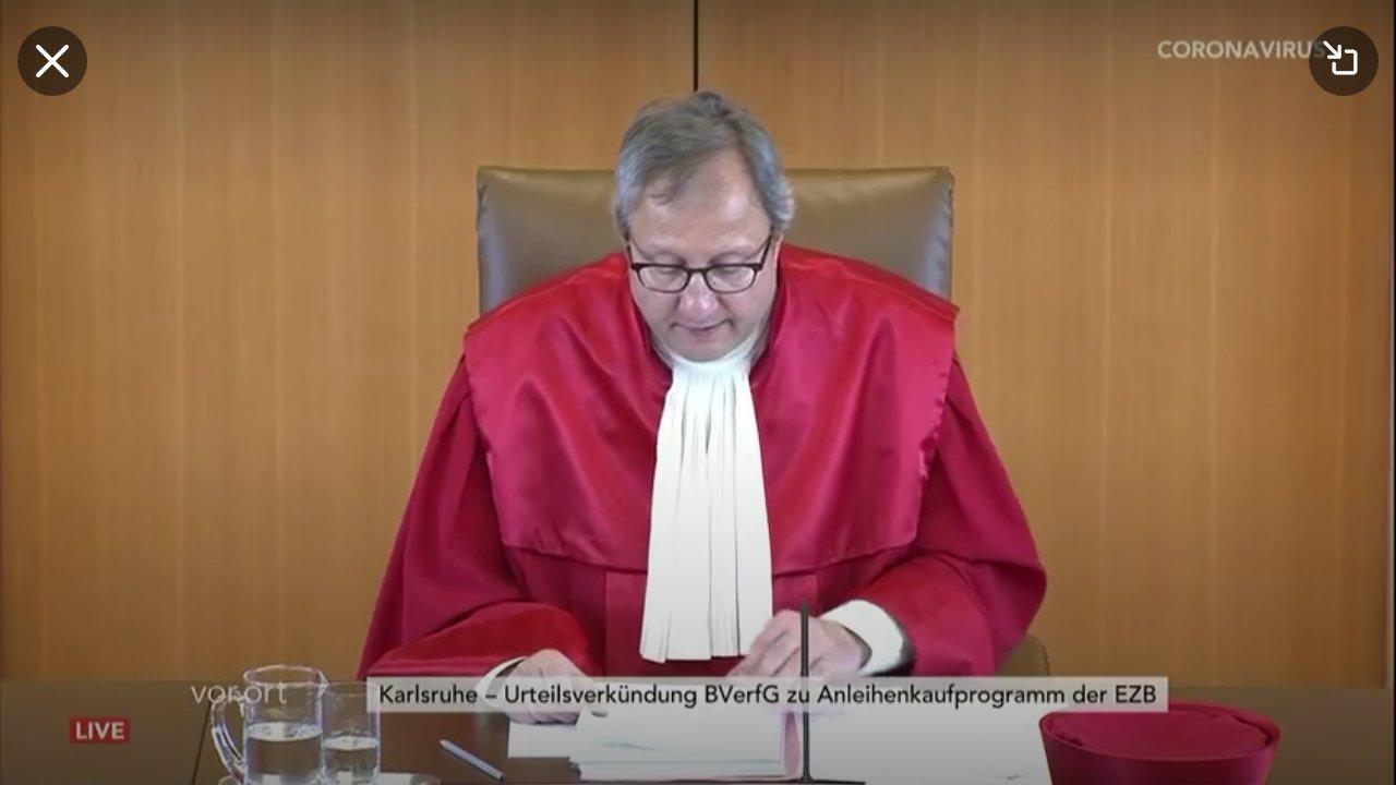corte costituzionale germania bce qe pepp