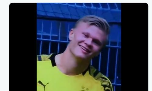 Erling land primo goal calcio europeo dopo emergenza Coronavirus