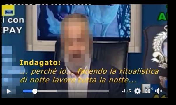 Renzo Martini: il mago Candido arrestato