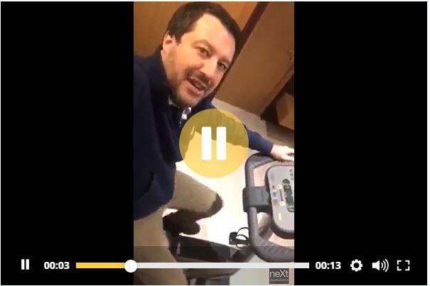 Cosa si è ridotto a fare Salvini per evitare di parlare di R