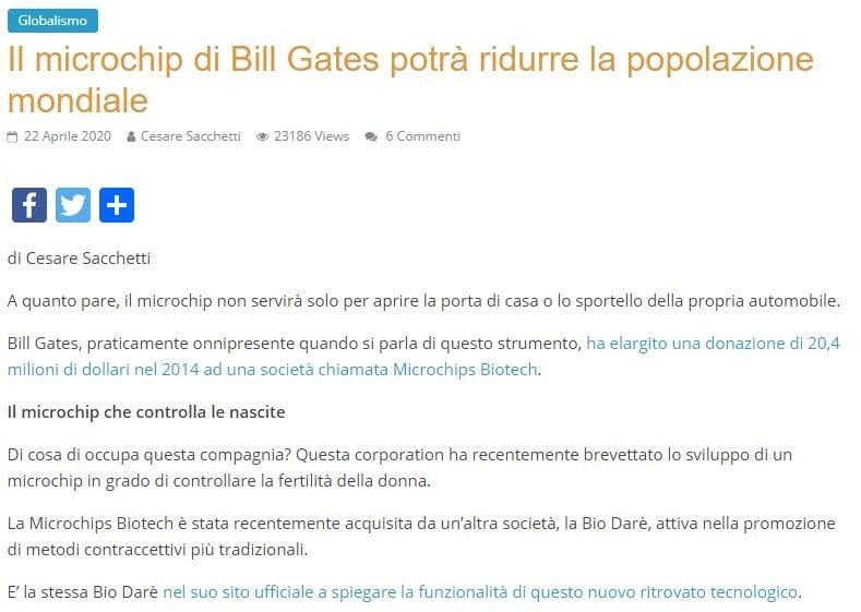 microchip sottocutaneo vaccino di pomezia bill gates 2