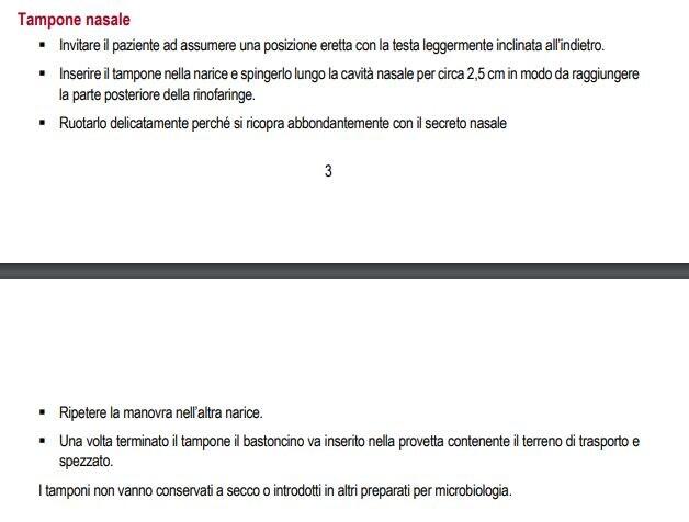 tampone nasale epicentro 1