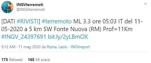 terremoto a roma 11 maggio 3