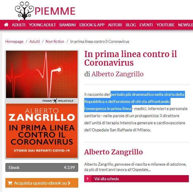 alberto zangrillo covid-19 coronavirus