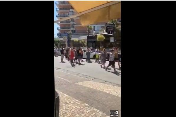 bulgari video rivolta mondragone zona rossa focolaio covid