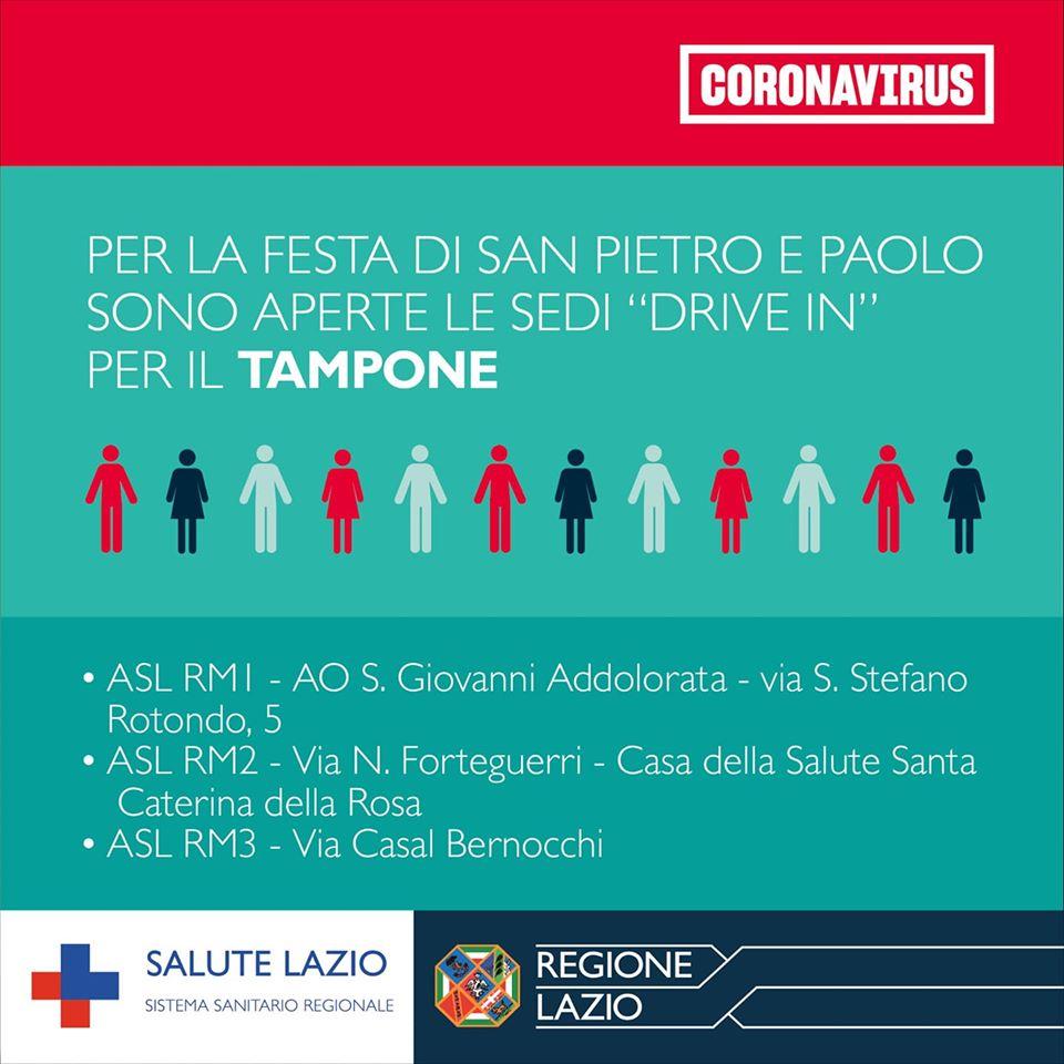 Lazio, il bollettino coronavirus di oggi: nove casi nelle ultime 24 ore