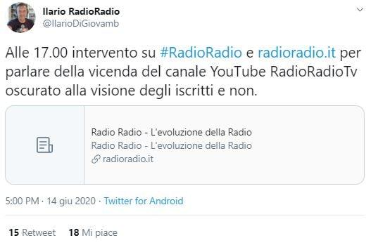 ilario di giovambattista radio radio