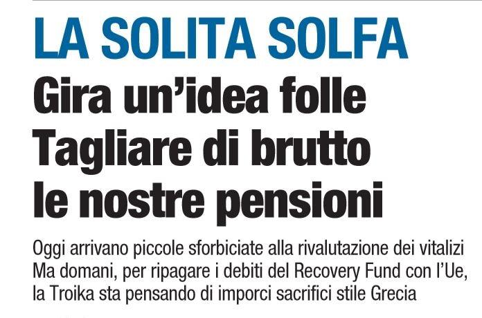 libero tagliare pensioni