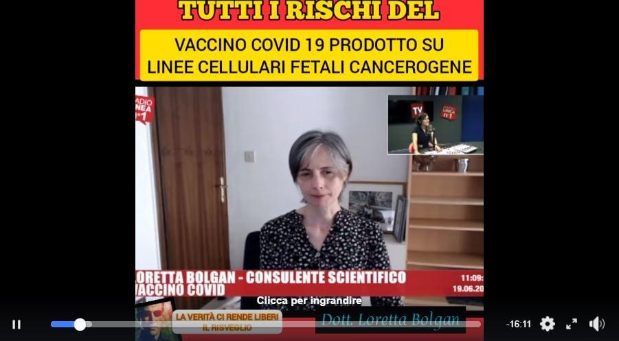 loretta bolgan vaccino covid-19