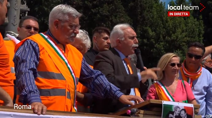 Il discorso di Pappalardo a Piazza del Popolo il 2 giugno è