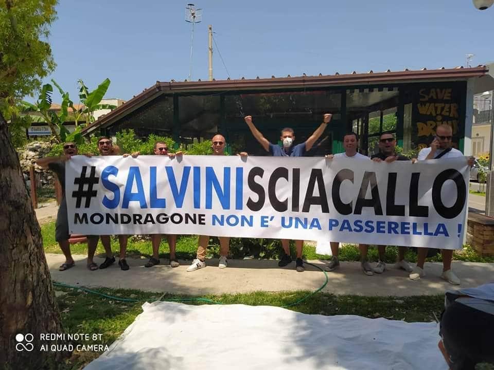 Caciosciacallo: la fuga di Salvini da Mondragone è il frutto dell'odio che ...