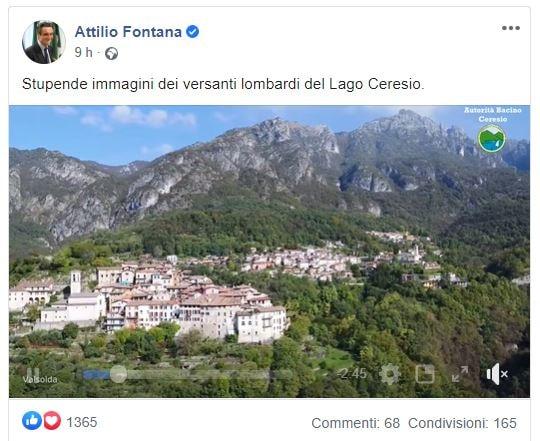 Il ruolo di Attilio Fontana nella storia dei camici del cogn