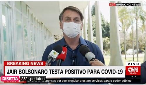 bolsonaro positivo coronavirus 1