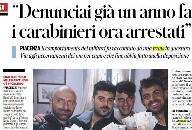 carabinieri caserma levante piacenza