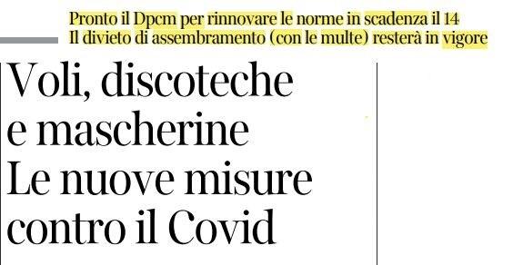 Coronavirus, in arrivo nuovo Dpcm del governo Conte: le nuove misure anti-contagio