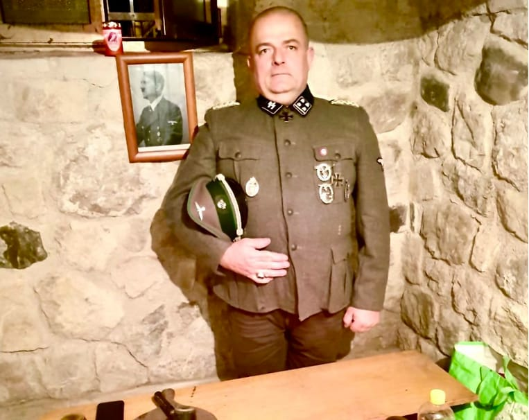 gabrio vaccarin nazista fratelli d'italia nimis udine