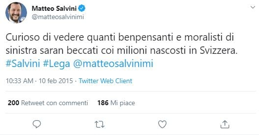 matteo salvini voluntary disclosure