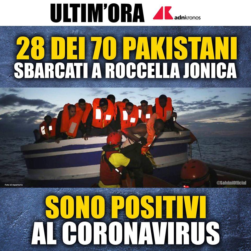 Cosa vuole nascondervi Salvini sull'«invasione» degli sbarch