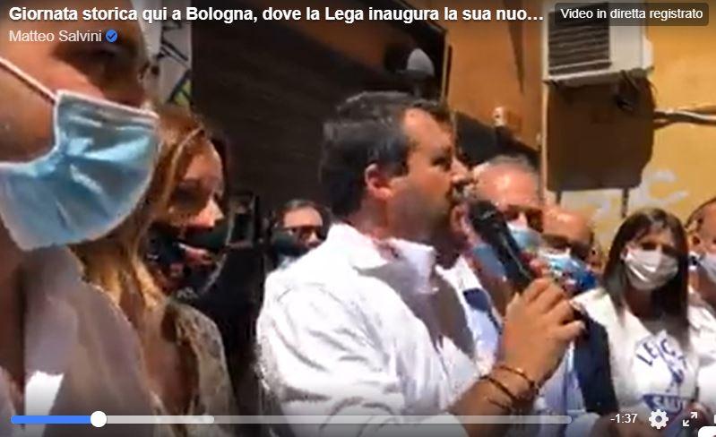 salvini ordinanza anti covid bonaccini emilia romagna