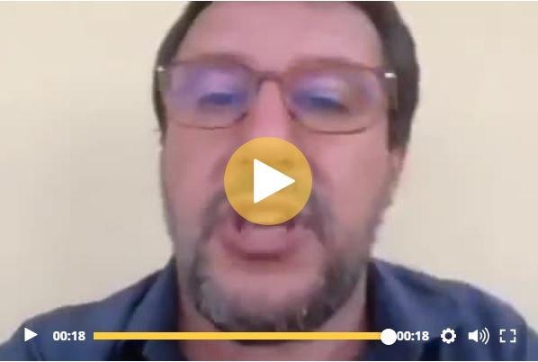 """Salvini e la """"puzza"""" dopo la visita a Mondragone"""