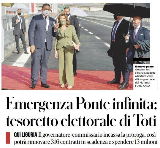 Giovanni Toti, chi è il presidente riconfermato alla guida della Regione Liguria