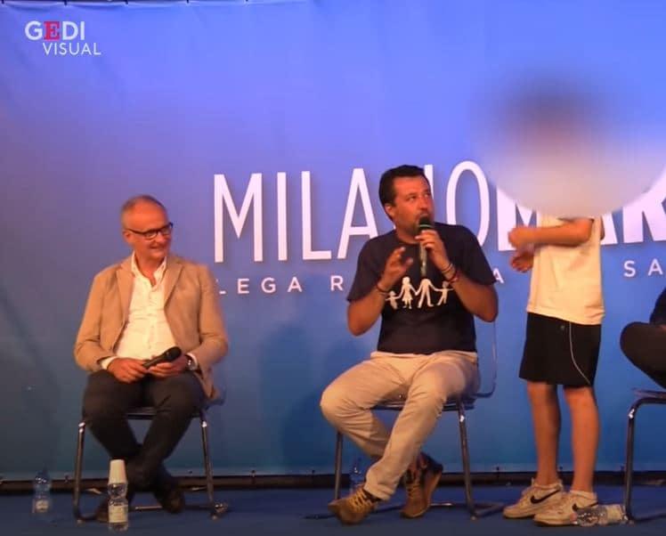 Ops, Salvini ha appena cambiato idea sulla mascherina