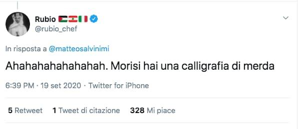 Salvini Chef Rubio