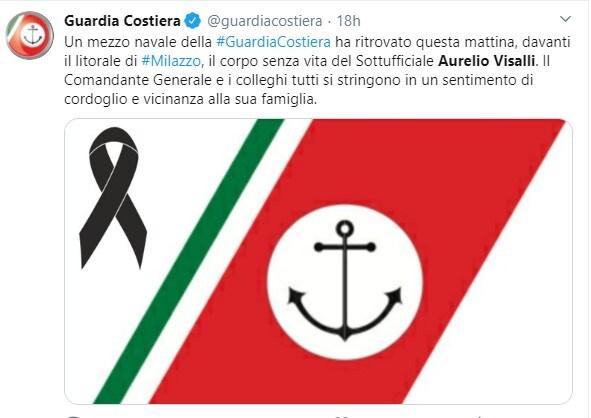 """""""Aurelio Visalli morto senza attrezzi per il salvataggio, solo con un salvagente"""""""