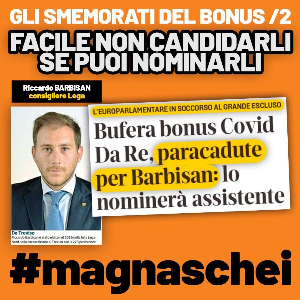riccardo barbisan furbetto lega bonus assistente europarlamentare 1